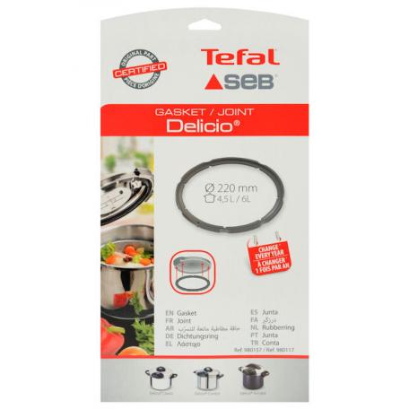 Joint seb delicio 4.5/6L 980157