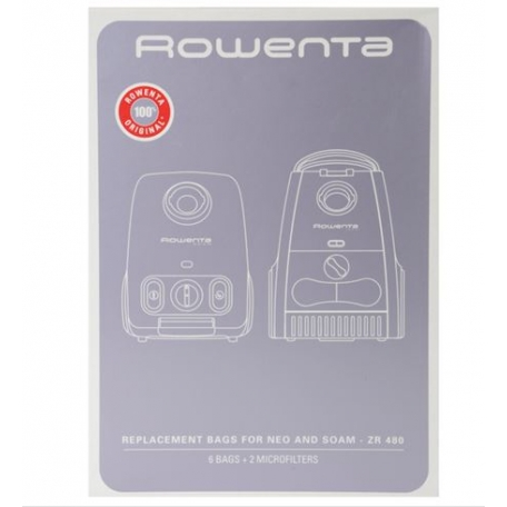 Sacs aspirateur rowenta ZR480