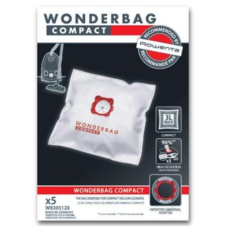 Sacs aspirateur compact wonderbag WB305120