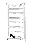 plaque signalétique congel armoire